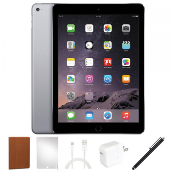 "Apple iPad Air 2 Bundle - 9.7"", 64GB, WiFi, Space Gray - MGKL2LL/A"