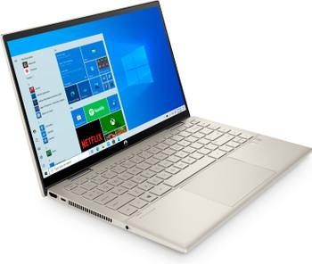 "HP Pavilion x360 Convertible 14m-dy0033dx - 14"" Touch, Intel i5, 8GB RAM, 512GB SSD, Windows 10, Warm Gold"