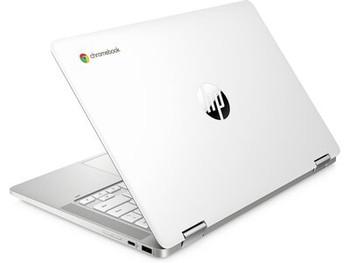 "HP Chromebook x360 14a-ca0020nr – 14"" Touch, Intel Celeron, 4GB RAM, 32GB SSD, Snow White"