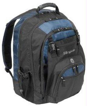 Targus Backpack Carrying Case - For Laptop - Nylon - Shoulder Strap - Black