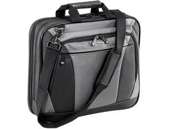 Targus Carrying Case - For Laptop - Nylon - Black/grey
