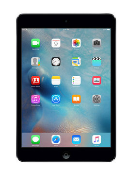 "Apple iPad Mini 2 - A7 1.3GHz, 16GB SSD, 7.9"" Touchscreen, Grey, 1 Year Warranty"