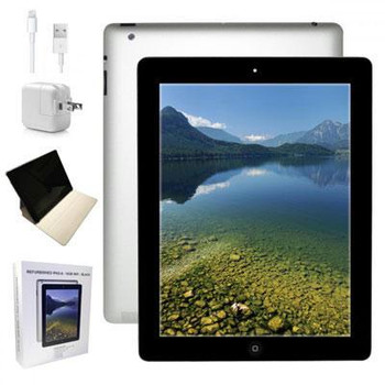 "Apple Ipad 4 - 1GB RAM, 16GB SSD, 9.7"" Touchscreen, Black"