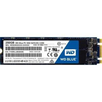Western Digital Blue 3D NAND SATA SSD 250GB M.2