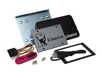 "Kingston Technology UV500 SSD 120GB Desktop/Notebook Upgrade Kit 120GB 2.5"" Serial ATA III"