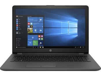 "HP 255-G6 Notebook – AMD E2 – 1.5GHz, 4GB RAM, 500GB HDD, 15.6"" Display, Windows 10 Pro 64"