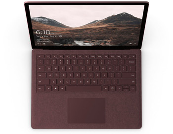 "Microsoft Surface Laptop | Intel Core i7 – 2.50GHz, 16GB RAM, 512GB SSD, 13.5"" Touchscreen, Windows 10S, Burgundy"