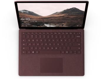 "Microsoft Surface Laptop | Intel Core i7 – 2.50GHz, 8GB RAM, 256GB SSD, 13.5"" Touchscreen, Windows 10S, Burgundy"