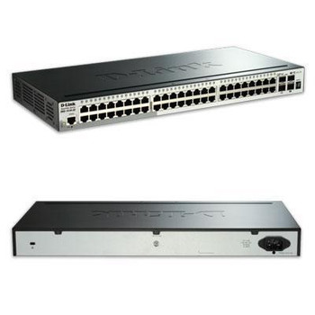D-link Systems Smart Pro Gigabit Switch. 48 Port Switch With 4 10gbe Sfp+ Ports