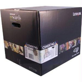Lexmark (lexmark C540x74g) C540x74g Black And Color Imaging Kit 30,000 Pages Per Job 5%