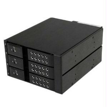 Startech Easily Connect And Hot Swap Up To Three 3.5 Sata/sas Hard Drives From Two 5.25 B