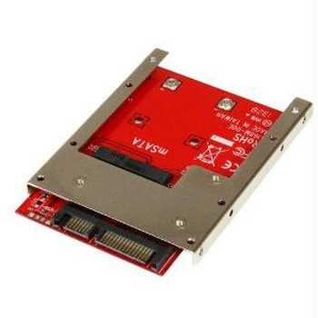 Startech Convert An Msata Ssd Into A 7mm High 2.5in Sata 6gbps Open Bracket Ssd - Msata T