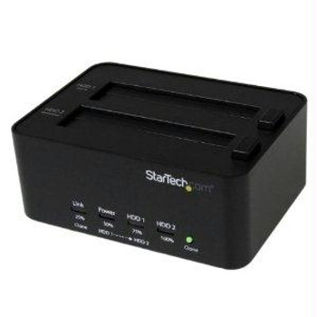 Startech Clone A 2.5in/3.5in Sata Drive Without A Host Computer Connection, Or Dock The D