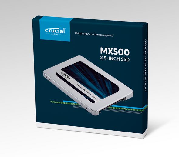 """Crucial 2TB MX500 2.5"""" SATA 6Gb s SSD Solid State Drive - CT2000MX500SSD1"""