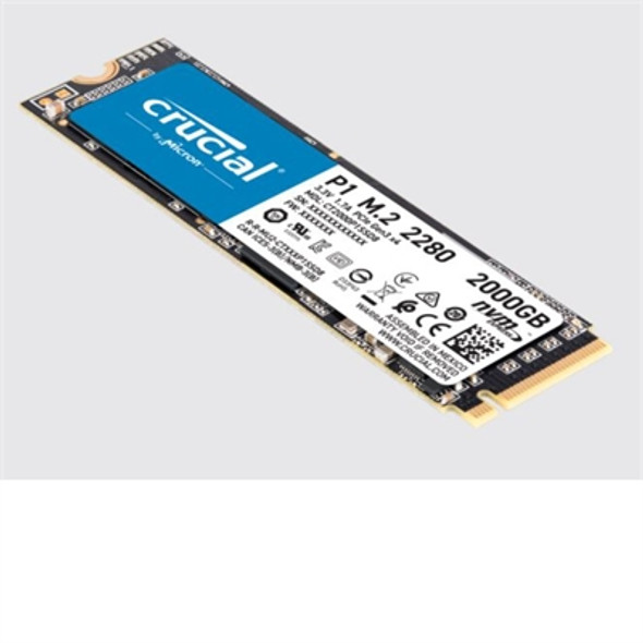 Crucial P1 2TB 3D NAND NVMe M.2 SSD Solid State Drive - CT2000P1SSD8