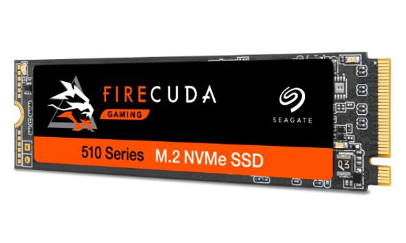Seagate FireCuda 510 - 1TB M.2 NVMe Gen3 x4 SSD
