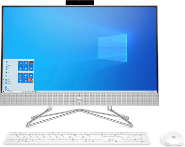 """HP All-in-One 24-dd0117c - 23.8"""" Display AMD Ryzen 3, 8GB RAM, 512GB SSD, Windows 10"""