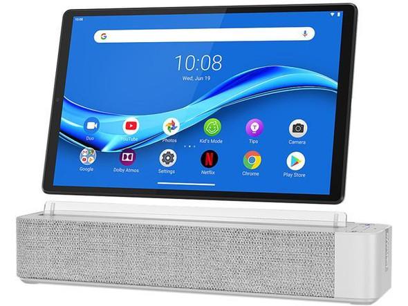 "Lenovo 2nd Gen Smart Tab M10 - 10.3"" Touch, 4GB RAM, 64GB eMMC, Alexa Smart Dock"