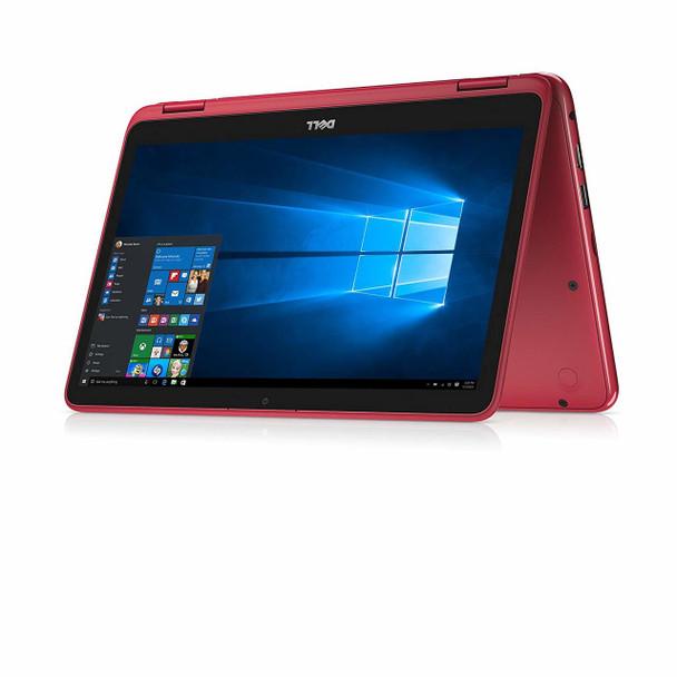 """Dell Inspiron 11-3168 – 11.6"""" - 2 in1 Touch, Intel Pentium – 1.60GHz, 4GB RAM, 500GB HDD, Red"""