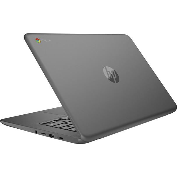 "HP Chromebook 14-ca023nr - Intel Celeron, 4GB RAM, 32GB SSD, 14.0"" Display, Gray"