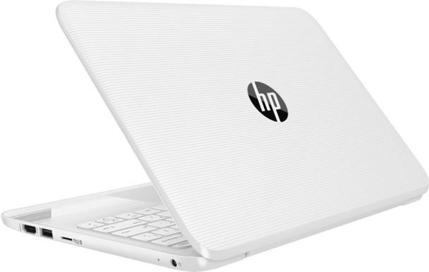 "HP Stream Laptop 11-ah112dx - Intel Celeron, 4GB RAM, 64GB SSD, 11.6"" Display, Windows 10 S, White"