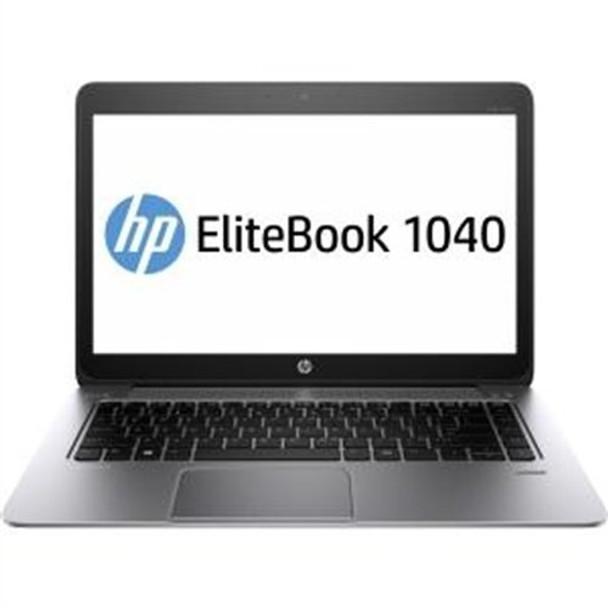 "HP EliteBook Folio 1040 G2 Notebook - Intel i5 - 2.30GHz, 4GB RAM, 256GB SSD, 14"" Display, Windows 10 Pro"