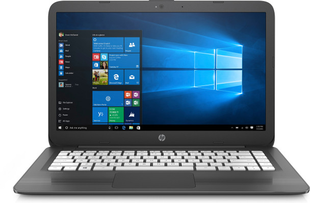 "HP Stream Laptop 14-cb112dx - Intel Celeron, 4GB RAM, 64GB SSD, 14.0"" Display, Windows 10 S"