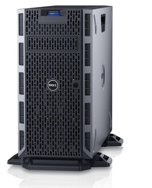 Dell Poweredge T330 Tower Server | Intel Xeon E3 1240 V5, 16GB RAM, 4x 120GB SSD, RAID 0/1/5/10/50