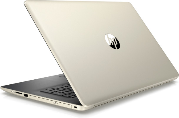 "HP Laptop 17-by0005cy - 17.3"" Touch, Intel i3 2.20GHz, 8GB RAM, 1TB HDD, Gold"