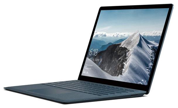 "Microsoft Surface Laptop – Intel i7 – 2.50GHz, 16GB RAM, 512GB SSD, 13.5"" Touchscreen, Windows 10 Pro, Cobalt Blue"