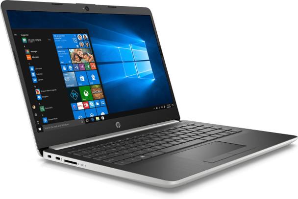 "HP Laptop 14-cf0010ds - 14"" Display, Intel Celeron, 4GB RAM, 64GB SSD, Silver"