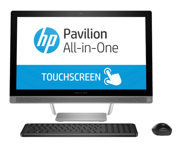"""HP Pavilion All-in-One 24-b010 - 23.8"""" Touch, AMD A9 -2.90GHz, 8GB RAM, 1TB HDD"""