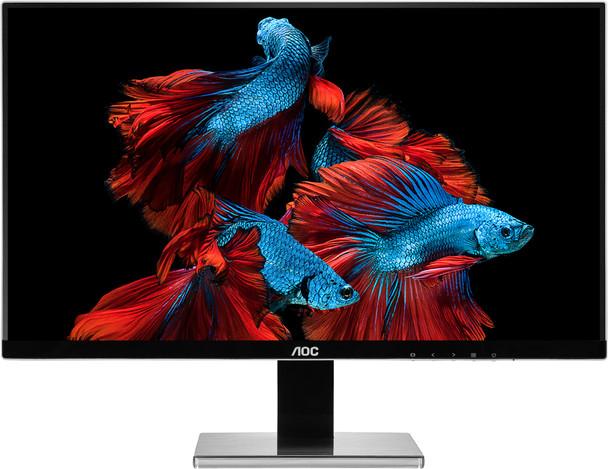 """AOC Pro-line U2777PQU (27"""") 4K Ultra HD LED Flat Matt Black Computer Monitor"""