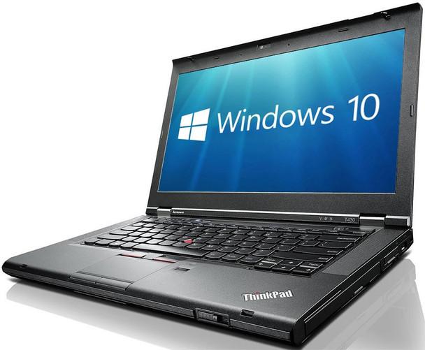 "Lenovo Thinkpad T430 Notebook - Intel i5 - 2.60GHz, 8GB RAM, 1TB HDD, 14"" Display, Windows 10 Pro"