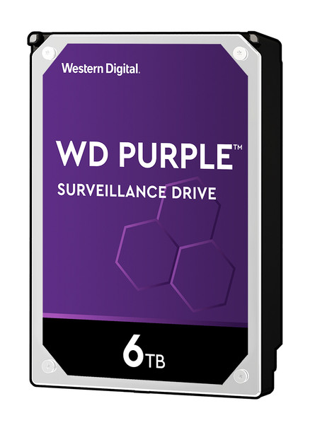"Western Digital Purple 3.5"" 6TB Serial ATA III Hard Drive WD60PURZ"