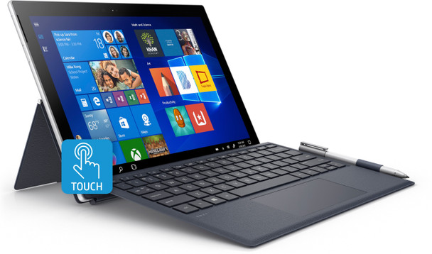 "HP ENVY x2 Detachable 12-e011nr - Qualcomm 2.60GHz, 4GB RAM, 128GB SSD, LTE, 12.3"" Touchscreen, Windows S"
