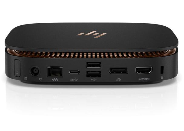 HP Elite Slice USFF - Intel i7 - 2.80GHz, 8GB RAM, 256GB SSD, Window 10 Pro