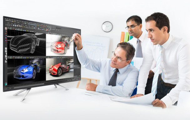 "Philips Brilliance 42.5"" 4K IPS Ultra HD LCD display BDM4350UC"