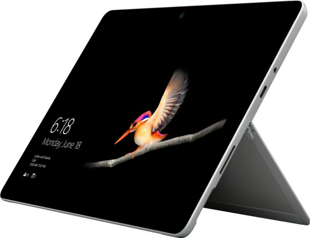 "Microsoft Surface Go - Intel Pentium – 1.60GHz, 4GB RAM, 128GB SSD, 10"" Touch, Windows 10 S, Silver"