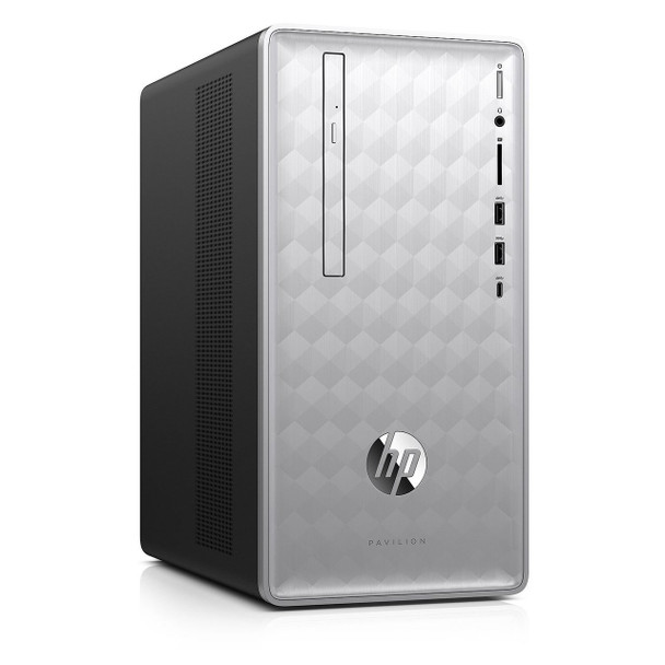 HP Pavilion 590-P0057C Tower, Intel Core i5 – 2.80GHz, 16GB RAM, 1TB HD, Radeon RX550 2GB, Office Home & Student 2019
