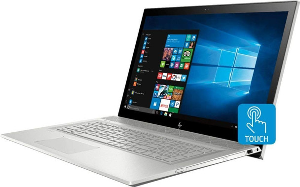 "HP ENVY 17M-BW0013DX - Intel Core i7 – 1.80GHz, 12GB RAM, 1TB HDD, 16GB Optane, GeForce MX150 2GB, Office Home & Student 2019, 17.3"" Touchscreen"