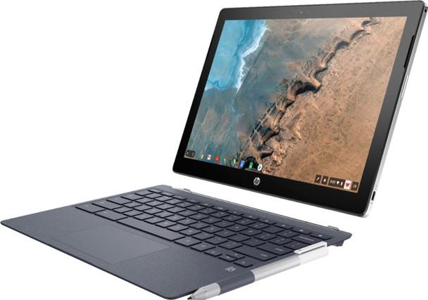 """HP Chromebook x2 12-f014dx - Intel M3 7Y30, 4GB RAM, 32GB SSD, 12.3"""" Touchscreen"""