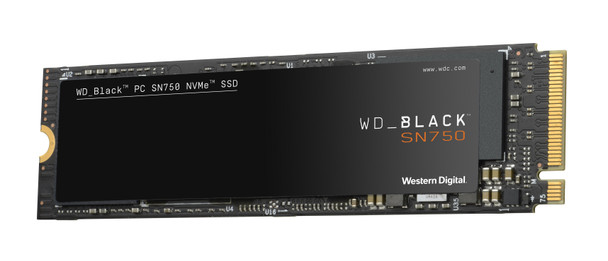 WD Black SN750 WDS500G3X0C 500 GB PCIe M.2 2280 NVME Solid State Drive
