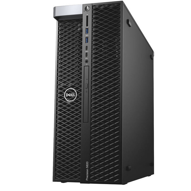 Dell Precision T5820 Tower | Intel Xeon W-2102 2.90GHz, 64GB RAM, 2x 600GB 15K HDD, 2x Quadro P600 2GB, RAID 0/1/5/10/50