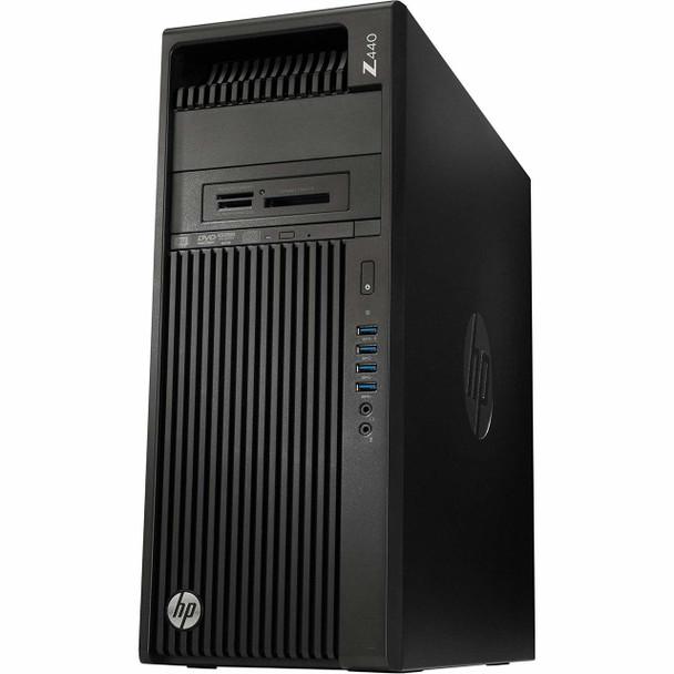 HP Z440 Business Workstation – Intel Xeon E5– 3.60GHz, 32GB RAM, 256GB SSD, NVS310 1GB, Windows 10 Pro 64