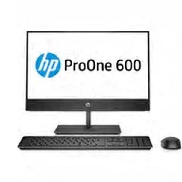 """HP ProOne 600 G4 - 21.5"""" AIO PC, Intel i3 - 3.60GHz, 4GB RAM, 500GB HDD, Windows 10 Pro"""