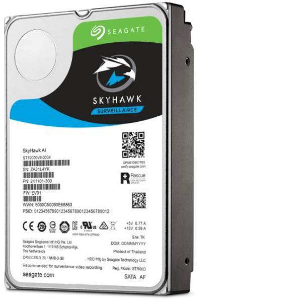 """Seagate Surveillance HDD Skyhawk AI 3.5"""" 14 TB Serial ATA III"""