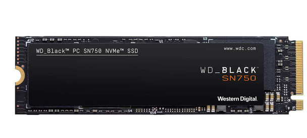 WD Black SN750 M.2 1TB PCI Express 3.0 NVMe Solid State Drive