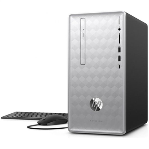 HP Pavilion Desktop 590-p0007c - Intel i7 - 3.20GHz, 12GB RAM 16GB Optane, 1TB HDD, RX 550 2GB