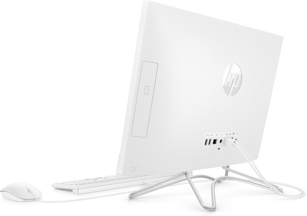 "HP All-in-One 22-c0016 - 21.5"" AIO PC, Intel Pentium J5005, 4GB RAM, 1TB HDD, White"